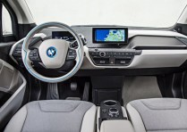 BMW i3 Electric Car Dashboard