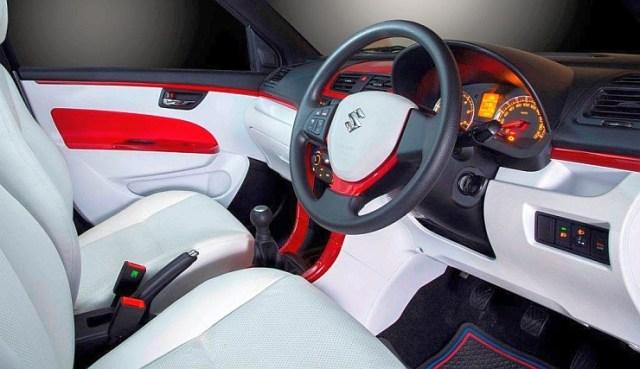 DC Design's Maruti Suzuki Swift Custom Interiors