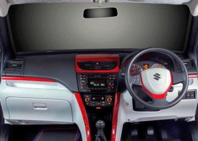 DC Design's Maruti Suzuki Swift Custom Dashboard