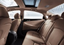 Hyundai Sonata Fluidic Rear Seat