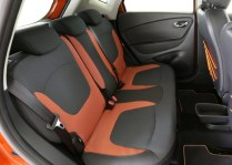Renault Captur Compact Crossover Rear Seat
