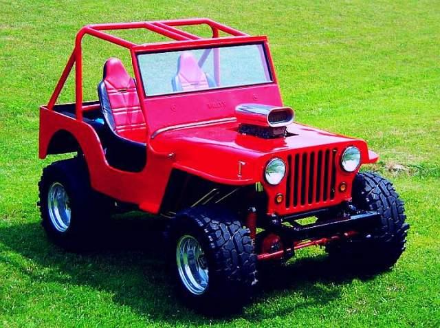 Willy's CJ3A Jeep