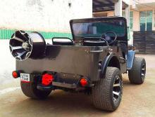 1976 Willy's Jeep Rear