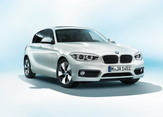 2015 BMW 1-Series Hatchback Facelift in White