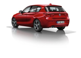 2015 BMW 1-Series Hatchback Facelift