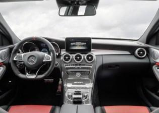 2015 W205 Mercedes Benz C63 AMG S Sportscar Dashboard