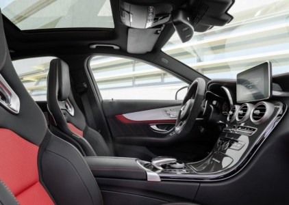 2015 W205 Mercedes Benz C63 AMG S Sportscar Interiors