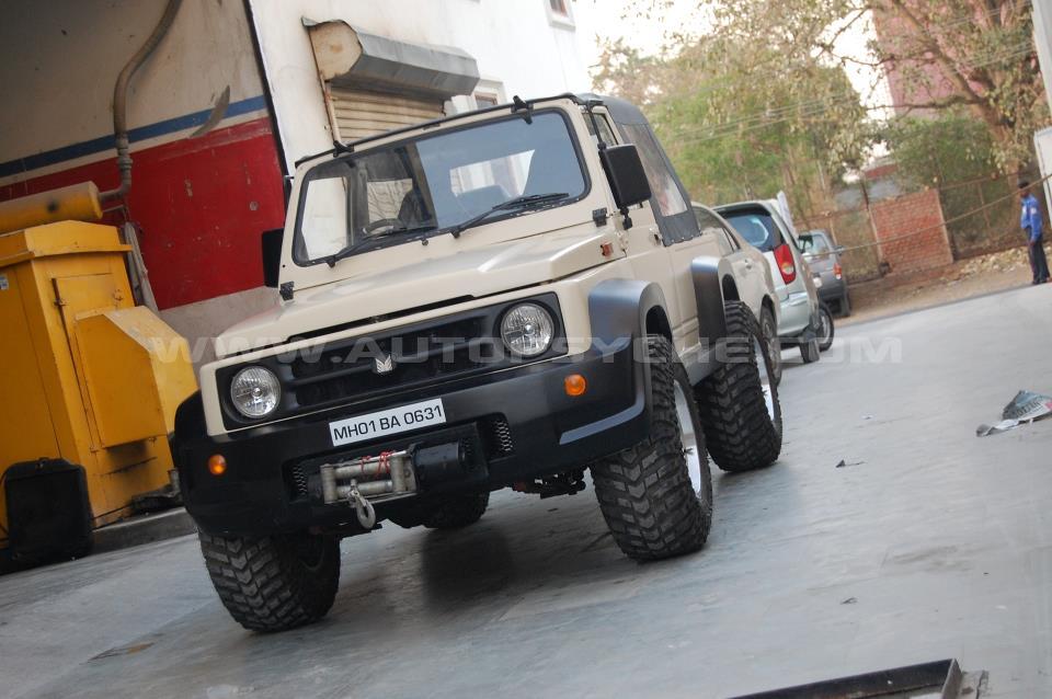 Maruti Suzuki New Gypsy