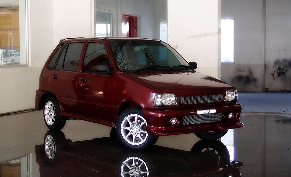 Maruti 800 new body kit 1