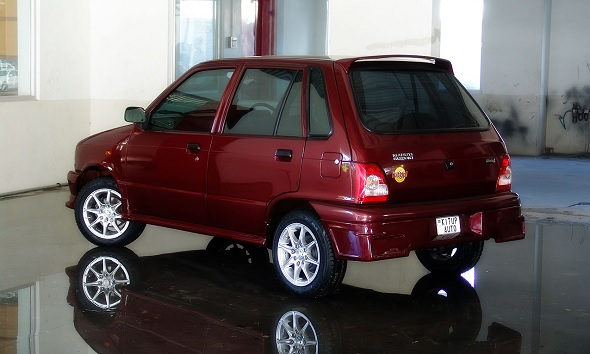 Maruti 800 new body kit 2