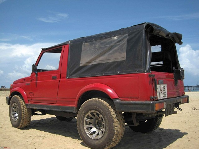 Maruti Gypsy Diesel 2
