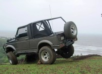 Maruti Gypsy King with Off Road Modifications 6