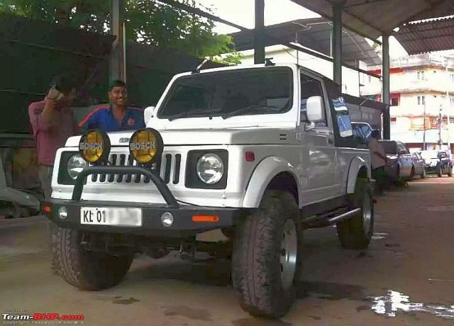 Maruti Suzuki Gypsy Wide Track with 1.6 Liter Baleno Engine 1