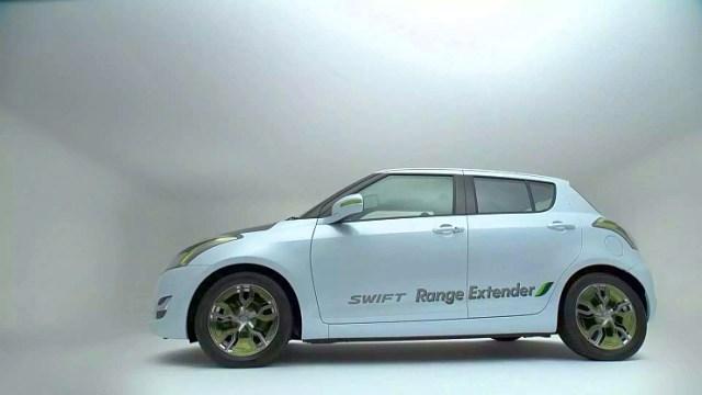 Maruti Suzuki Swift Range Extender Hybrid Profile