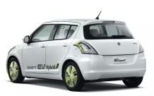 Maruti Suzuki Swift Range Extender Hybrid Rear Three Quarters