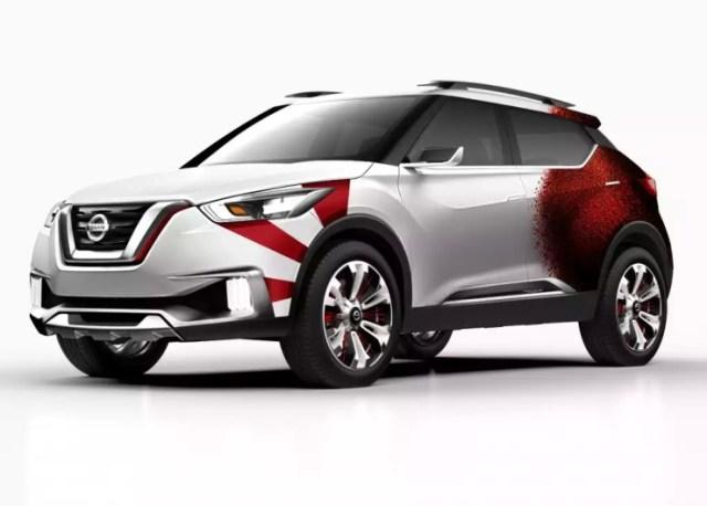 Nissan Kicks Samba Concept SUV Front