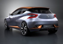 Nissan Sway Concept Hatchback Rear Three Quarters