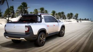 Renault Duster Oroch Pick Up Truck Concept Rear