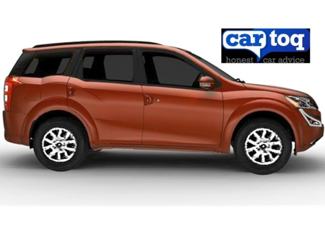 2015 Mahindra XUV500 Crossover Facelift Render Profile