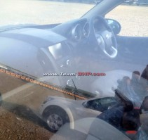 2015 Mahindra XUV500 Crossover Facelift Interiors Spyshot
