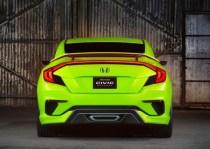 2016 Honda Civic Concept Rear
