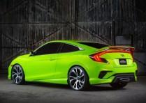 2016 Honda Civic Concept Rear Three Quarters