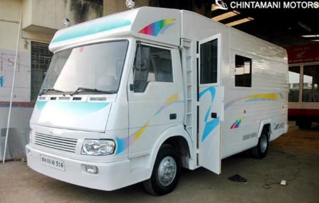 Chintamani Motors' Eicher based Motorhome 2
