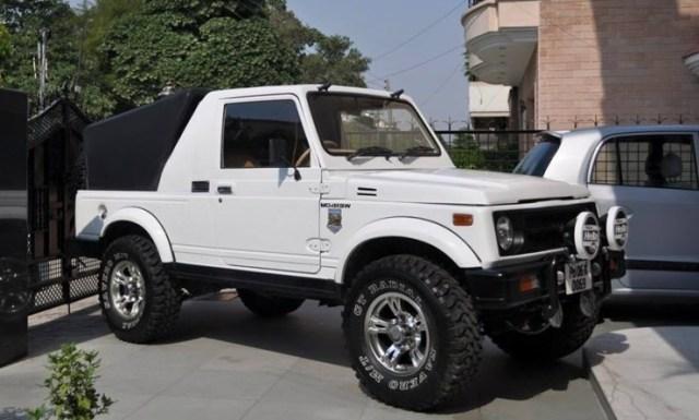Dilsher Singh's Maruti Suzuki Gypsy 3