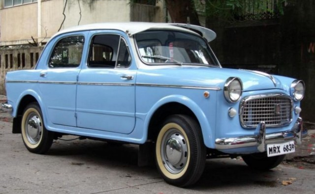 Fiat 1100 Front