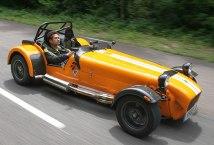 Sachin Tendulkar Driving the Caterham 7