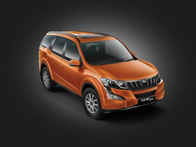Facelifted Mahindra XUV500