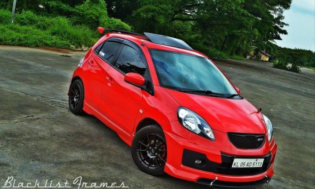 Honda Brio Modified