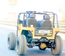 Made 4X4 Concept's Jeep Tumblebee 3