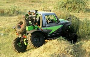 Modified Maruti Suzuki Gypsy 3
