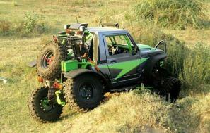 Modified Maruti Suzuki Gypsy 3