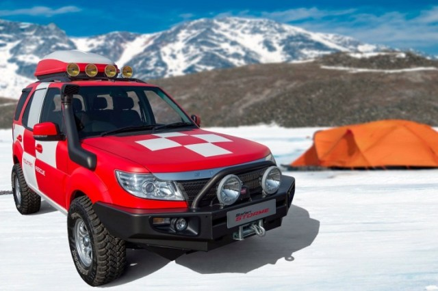 Tata Safari Storme Mountain Rescue Concept 1