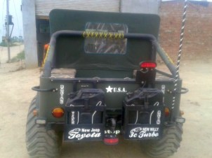 Willy's 6X6 Jeep 5