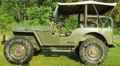 Willy's CJ3B Diesel Jeep 1