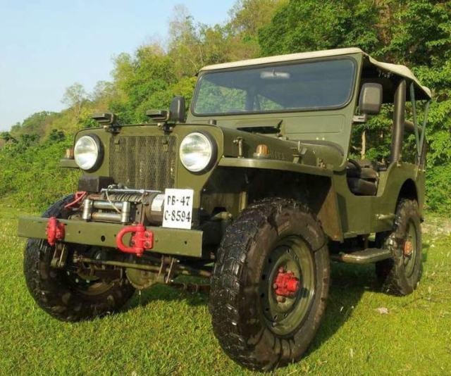 Willy's CJ3B Diesel Jeep 4