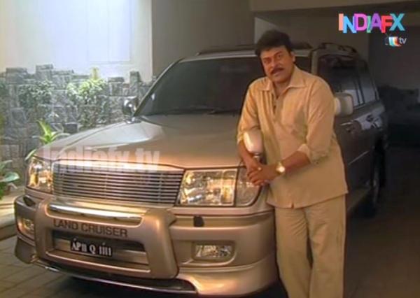 Chiranjeevi's Old Toyota Land Cruiser