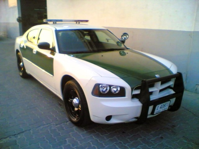 Dubai Police's Dodge Charger