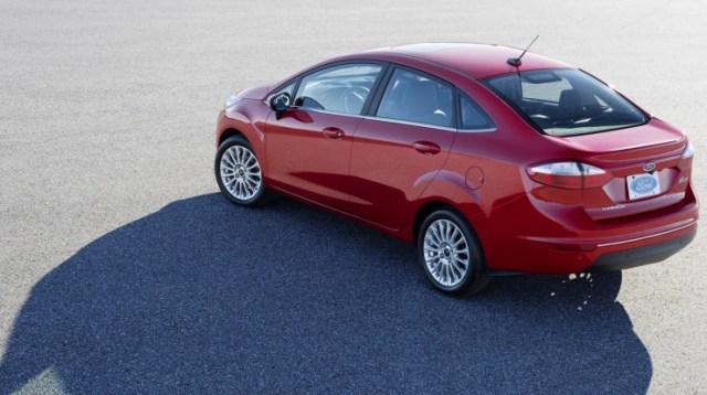 Ford Fiesta Facelift Sedan 2