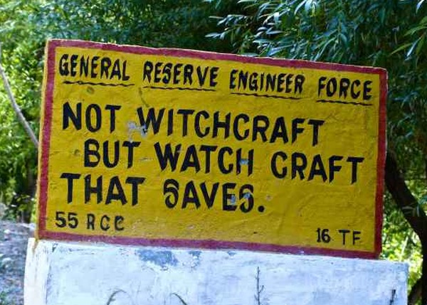 Funny Road Sign 2
