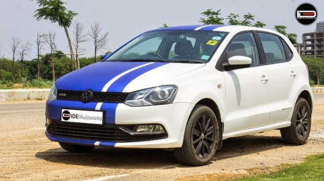 IDE Autoworks' Volkswagen Polo Wrap 1