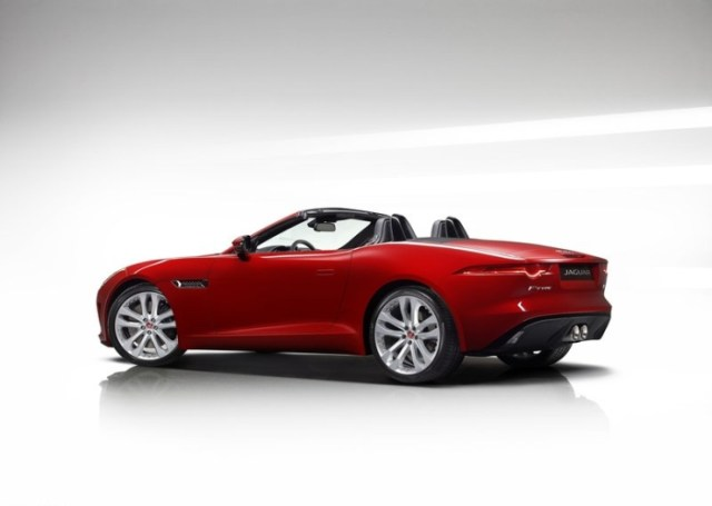 Jaguar F-Type Convertible 3