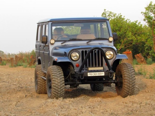 Mahindra Armada Modified 1