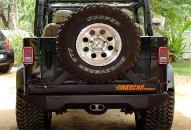 Mahindra Armada to Jeep Wrangler Unlimited 3