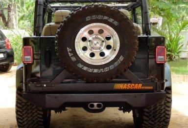 Mahindra Armada to Jeep Wrangler Unlimited 3
