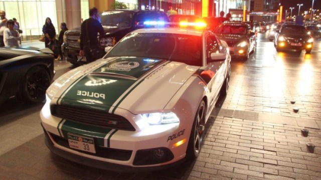 The Ford Mustang of the Dubai Police