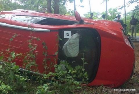 Ford Ecosport Crash 1